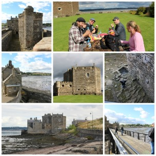 Blackness Castle collage