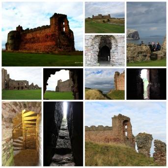 Tantallon Castle Collage