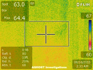 Thermal Imaging Picture at Walker Ames in Port Gamble No Image
